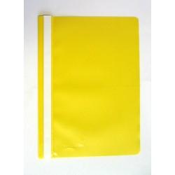 Schnellhefter Sichthefter PP-Folie A4 gelb SONDERANGEBOT / 1 Stück