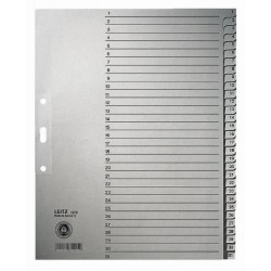 Register Leitz 1231 1-31 A4 Papier 300x240 31 Blatt grau (1 St.)