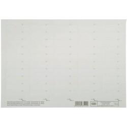 Beschriftungsschilder Elba f. Vertic 158 x 18 mm weiß Bg.= 50 St.