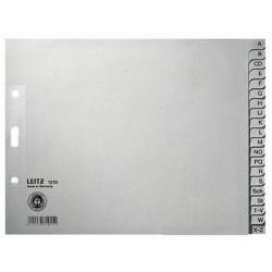 Register Leitz 1210 A-Z A4 Papier halbe Höhe 20 Blatt grau (1 St