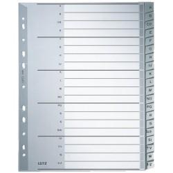 Register Leitz 1260 A-Z A4 PP 297X238 20 Blatt grau Überbreite