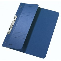 Schlitzhefter Leitz 3744 A4 250g halber Deckel kfm. Heftung blau