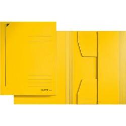 Jurismappe Leitz 3924 Karton 300 g/m² 3 Klappen A4 für 250 Blatt gelb