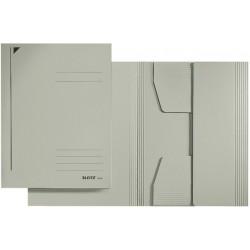 Jurismappe Leitz 3924 Karton 300 g/m² 3 Klappen A4 für 250 Blatt grau