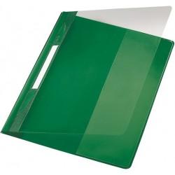 Schnellhefter Exquisit LEITZ 4194 DIN A4 kfm. Heftung grün / 1St.