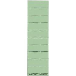 Beschriftungsschilder Leitz 1901 blanko grün 100 St.