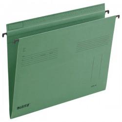 Hängemappe Leitz 1815 Serie 18 A4 320g seitlich offen grün