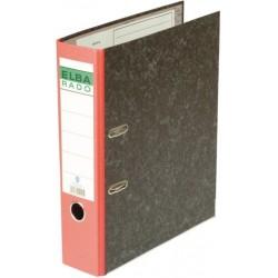 Ordner Elba Rado 10407 RC A4 Rücken 8cm breit sk Rückenschild rot
