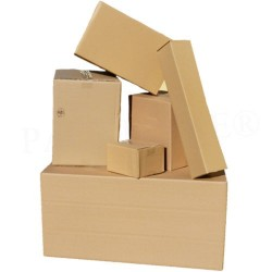 KARTON Post-Päckchen-Faltkarton 590x290x140mm P5 (50 Stück)