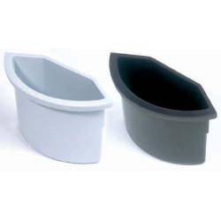 Papierkorb Einsatz für runde Eimer bis Ø 30 cm schwarz