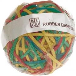 Gummibänder Ball Ø 7cm ca. 320 St. Gummiringe farbig