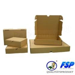 KARTON MAXIBRIEF-KARTON 250x175x50mm DIN A5 MB2 braun (50 Stück)