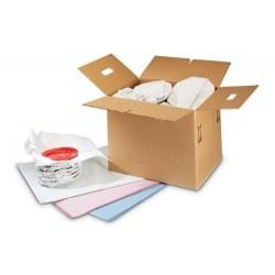 Seidenpapier Hellgrau-Seiden 25g/m² 1/2 Bogen 50x75cm 10kg