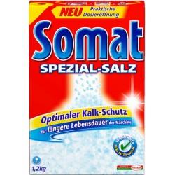 Spülmaschinensalz Somat grobkörnig für Geschirrspüler 1,2 kg