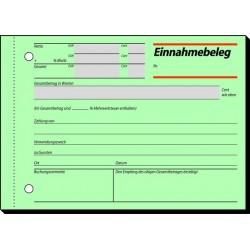 Einnahmebeleg Sigel EB615 DIN A6 quer 50 Blatt
