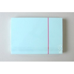 Karteikarten blanko DIN A5 190 g/m² blau (Pckg. á 100 Stück)