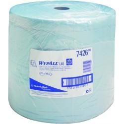 Wischtuch WYPALL L40 3lg. 33x38cm blau 1 Rolle á 750 Tücher