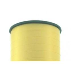 Geschenkband Ringelband 5mmx500m Gelb Hellgelb 615 / 1 Rolle