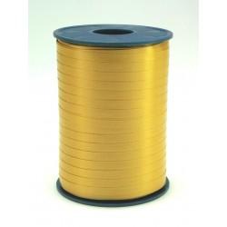 Geschenkband Ringelband 5mmx500m Gold 634 / 1 Rolle
