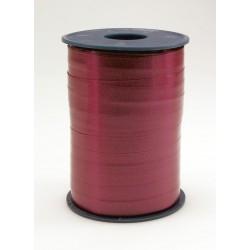 Geschenkband Ringelband 5mmx500m Bordeaux 18 / 1 Rolle