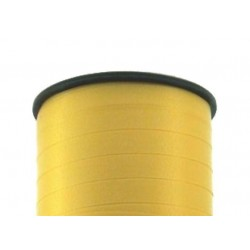 Geschenkband Ringelband 5mmx500m Gelb 605 / 1 Rolle