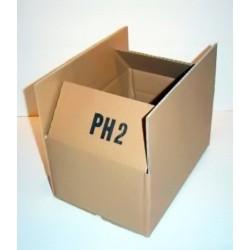 Kartons 260x170x120mm Einwellig PH2 (300 Stück)
