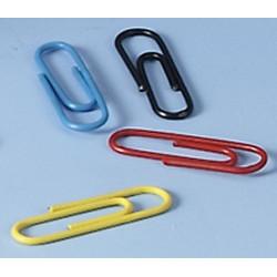 Büroklammern Briefklammer farbig sortiert Dose á 150 Stck.
