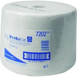 Wischtuch WYPALL L20 1lg. Rolle 1.000 Tücher 23,5x38cm weiß
