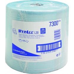 Wischtuch Rolle 23,5x38,0cm 2lg blau WYPALL L30 VE=1x500 Blatt
