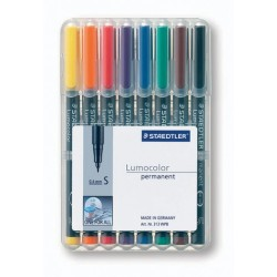 Projektionsschreiber OHP-Stift Lumocolor 313 perm S 0,4mm 8er-Etui