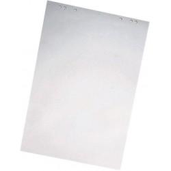 Flipchartblock blanko kariert 68x99cm hf weiß 20 Blatt mit Universallochung für Flipcharttafeln