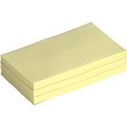 Haftnotizblock 127x76mm gelb 100 Blatt 1 Stück