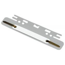 Heftstreifen Elba zum Einhängen Kunststoff 3,7x15cm grau 100St.