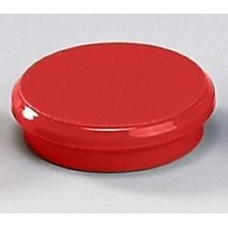 Magnete rund Ø 24mm Haftkraft 300g rot (10 Stück)