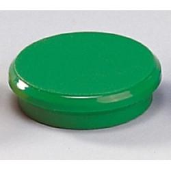 Magnete rund Ø 32mm Haftkraft 800g grün (10 Stück)