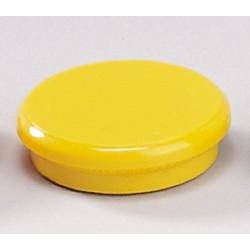 Magnete rund Ø 32mm Haftkraft 800g gelb (10 Stück)