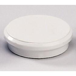 Magnete rund Ø 32mm Haftkraft 800g weiß (10 Stück)