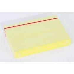 Karteikarten blanko DIN A6 gelb (Pckg. á 100 Stück)