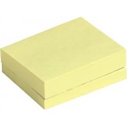 Haftnotizen 38x51mm gelb (Pckg. = 12 Blöcke á 100 Blatt)