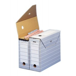Archivschachtel Archivbox Elba Tric 83422 11 x 34 x 27 cm / 10 Stück