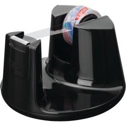 Tischabroller TESA Easy Cut® Compact schwarz inkl. 1 Rolle Tesafilm kristallklar