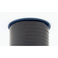 Geschenkband Ringelband 10mmx250m schwarz 613 / 1 Rolle