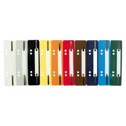 Heftstreifen für A5 + A4 mit PP-Deckleiste grau (100 Stück)