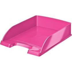 Ablagekorb Briefkorb Leitz WOW PS A4 255x357x70mm pink metallic