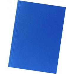 Aktendeckel Karton 250g A4 23x31,8cm blau  1 Stück