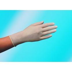 Handschuhe Einweg unsteril Vinyl gepudert Größe M natur Pckg.= 100 Stück