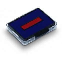 Ersatzstempelkissen für Trodat 5430 blau/rot 2-farbig 2er Pack