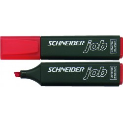 Textmarker Highlighter Schneider JOB 150 rot