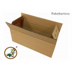 Versandkarton f. Flaschen 380x150x140mm 2-wellig DVD20-WK1 (50 Stück)