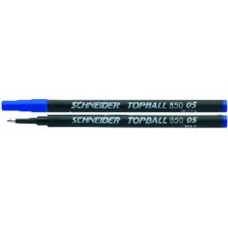 Ersatzmine Schneider Topball 850 0,5mm blau VE=10 STÜCK